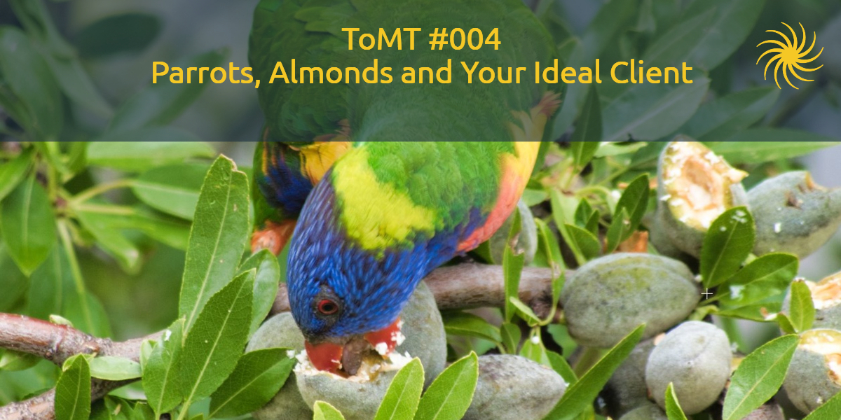 Parrots, Almonds and Your Ideal Client